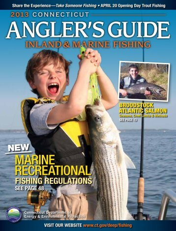 2013 CT Anglers Guide - CT.gov