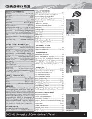 2005-06 CU Men's Tennis Media Guide_FINAL.indd - CUBuffs.com