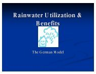 Rainwater Utilization & Benefits - ctahr