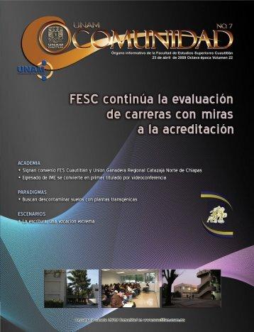 Evaluación - Facultad de Estudios Superiores Cuautitlán ...