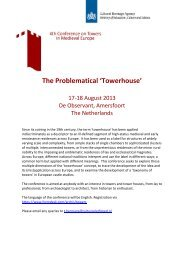 The Problematical 'Towerhouse'