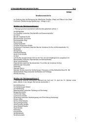 Straßenverzeichnis - Stadt Cuxhaven