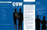 Pamphlet - Concordia University Wisconsin