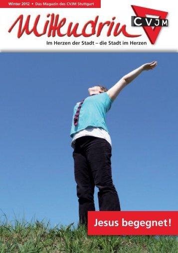 29. Ausgabe - Winter - CVJM Stuttgart