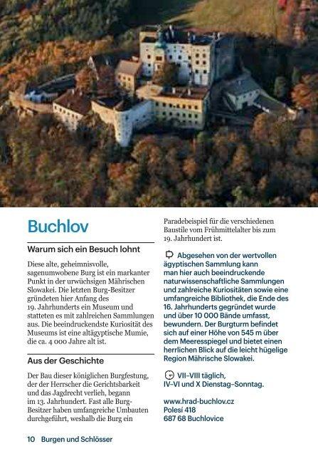 Burgen - CzechTourism