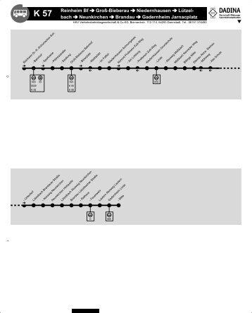 Linie K 57 (PDF, 827KB) - Dadina