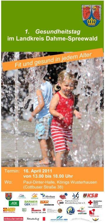 Flyer - Landkreis Dahme-Spreewald