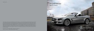 Original-Zubehör für die SL-Klasse - Daimler