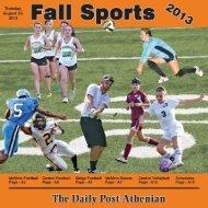 Fall Sports Tab (.pdf) - The Daily Post-Athenian