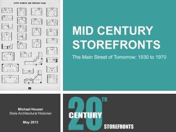 MID CENTURY STOREFRONT