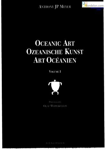 OCEANIC ART OZEANISCHE ART OCÉANIEN
