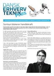 Sortsyn blokerer handlekraft - Dansk Erhverv