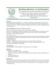 Building Motions in Earthquakes - Dartmouth College