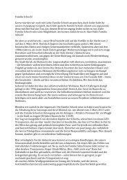Brief an die Familie Schoch - Genossenschaft Dreieck