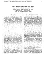 Elastic Task Model For Adaptive Rate Control