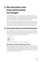 Google+ für Unternehmen erfolgreich einsetzen - Data Becker