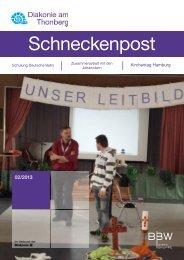Schneckenpost 2013/2 - Diakonie am Thonberg
