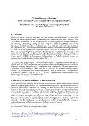 Whistleblowing – Hotlines: Firmeninterne Warnsysteme und ...