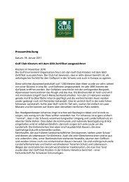 Pressemitteilung Öko-Zertifikat (PDF 63 KB) - Davos
