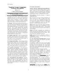 Napoleon's Later Campaigns Scenario Description - DBAI
