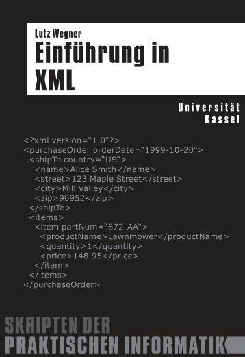 Skript - Praktische Informatik / Datenbanken - Universität Kassel