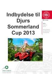 Indbydelse til Djurs Sommerland Cup 2013 - DBU Jylland