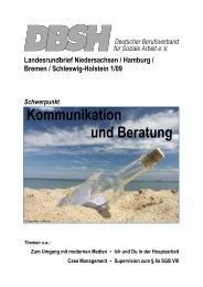 Kommunikation und Beratung - DBSH LV Niedersachsen