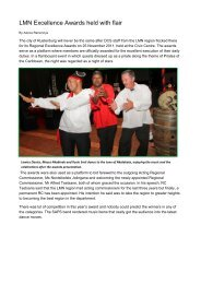 LMN Excellence Awards held at Rustenburg - Department of ...