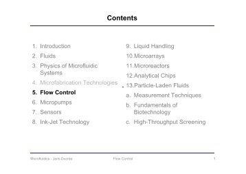Flow Control - DCU