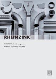 RHEINZINK® -Dachentwässerungssystem Dachrinnen ... - DDH