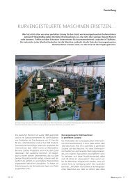 Kurvengesteuerte Maschinen ersetzen... - DECO Magazine - The ...