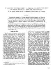 19. Paleocene-Eocene Calcareous Nannofossils of Onshore Wells ...