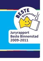 Juryrapport Beste Binnenstad 2009-2011 - Detailhandel Nederland