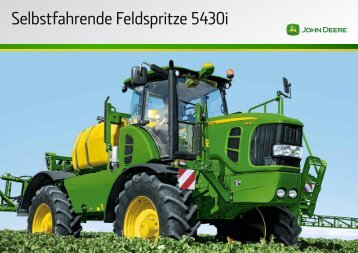 Selbstfahrende Feldspritze 5430i - John Deere