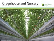 Greenhouse and Nursery - John Deere
