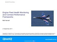 Engine Fleet Health Monitoring and Contract Performance ...
