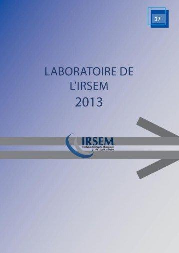 a Political Ecology perspective - Ministère de la Défense