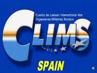 CLIMS RESORTS SPAIN - Ministerio de Defensa