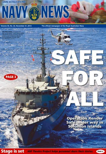 Edition 5622, November 21, 2013 - Department of Defence