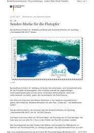 die entsprechende Pressemitteilung des Ministeriums ... - Deggendorf
