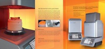 ProFire compact/press Broschüre - DeguDent GmbH