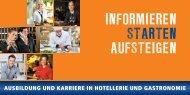 INFORMIEREN STARTEN AUFSTEIGEN - DEHOGA Bundesverband