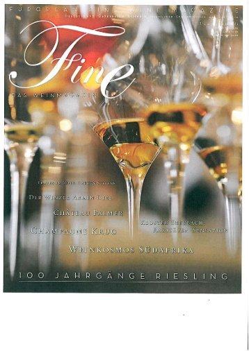 Leseprobe 100 Jahrgaenge Riesling - DEHOGA Shop