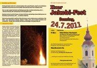 Jakobi-Fest