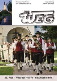 26. Mai - Fest der Pfarre - natürlich feiern! - Diözese Graz-Seckau