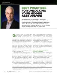 Best practices for Unlocking yoUr hidden data center - Dell