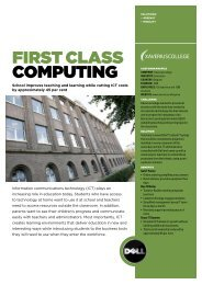 First Class Computing - Dell