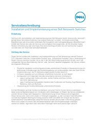 Installation and Implementation of a Dell Network Switch