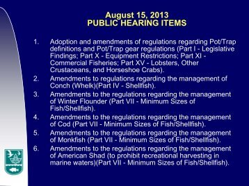 Public Hearing Slideshow - Rhode Island Department of ...