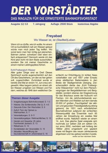 Ausgabe Dezember 2013 - Der Vorstädter